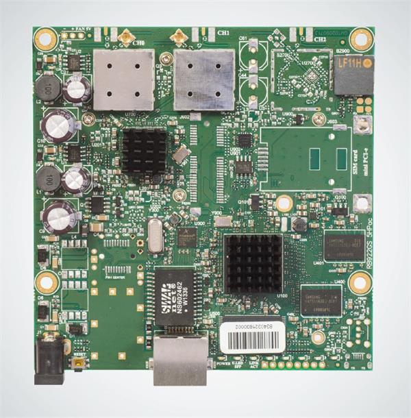 MIKROTIK • RB911G-5HPacD • MikroTik 802.11ac RouterBOARD